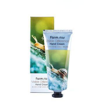 Farm Stay – Visible Difference Hand Cream krem do rąk ze śluzem ślimaka (100 ml)