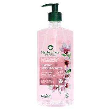 Herbal Care – Płyn micelarny Kwiat Migdałowca (400 ml)
