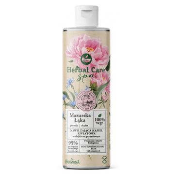 Herbal Care SPA Nawilżająca kąpiel kwiatowa Mazurska Łąka z olejkiem geraniowym (400 ml)