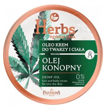 Farmona Herbs Oleo krem do twarzy i ciała Olej Konopny (100 ml)
