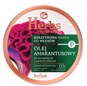 Farmona Herbs kearatynowa maska Olej Amarantusowy (250 ml)