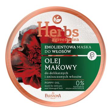 Farmona Herbs Emolientowa maska Olej Makowy (250 ml)