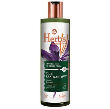 Farmona Herbs Nutri olejek do mycia ciała Olej Szafranowy (400 ml)