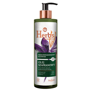 Farmona Herbs przeciwstarzeniowy szampon Olej Szafranowy (400 ml)