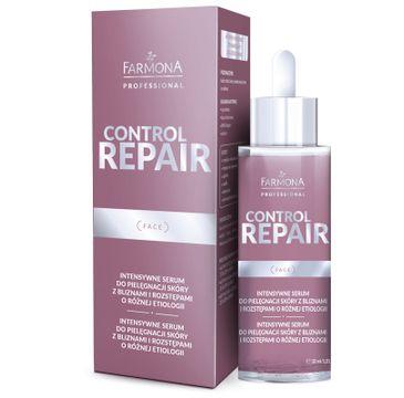 Farmona Professional Control Repair intensywne serum do pielęgnacji skóry z bliznami i rozstępami o różnej etiologii (30 ml)