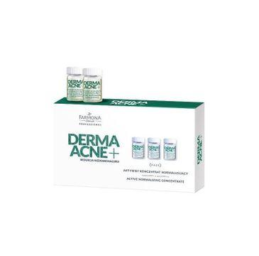 Farmona Professional – Dermaacne+ aktywny koncentrat normalizujący do cery tłustej i mieszanej (5 x 5 ml)