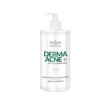 Farmona Professional – Dermaacne+ gruszkowy żel do mycia twarzy (500 ml)