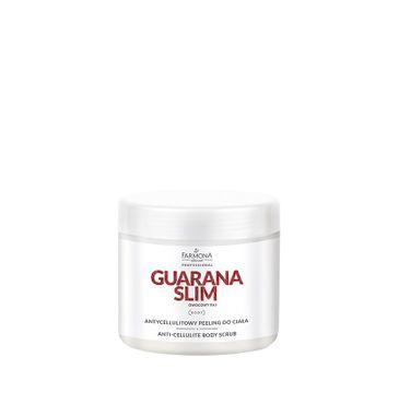 Farmona Professional – Guarana Slim antycellulitowy peeling do ciała (600 g)