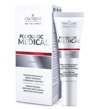 Farmona Professional Podologic Medical krem do pielęgnacji skóry i paznokci z objawami grzybicy (15 ml)