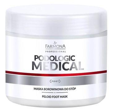 Farmona Professional Podologic Medical maska borowinowa do stóp (500 ml)