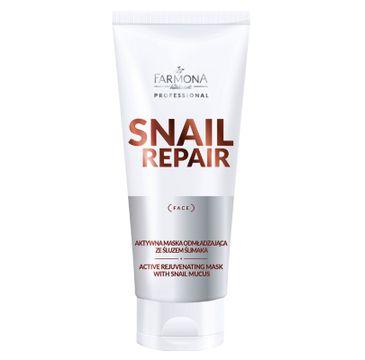 Farmona Professional – Snail Repair aktywna maska odmładzająca ze śluzem ślimaka (200 ml)
