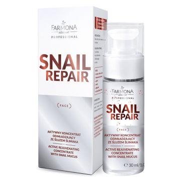Farmona Professional – Snail Repair aktywny koncentrat odmładzający ze śluzem ślimaka (30 ml)