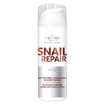 Farmona Professional – Snail Repair aktywny krem odmładzający ze śluzem ślimaka (150 ml)