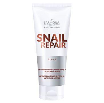 Farmona Professional – Snail Repair aktywny peeling odmładzający ze śluzem ślimaka (200 ml)