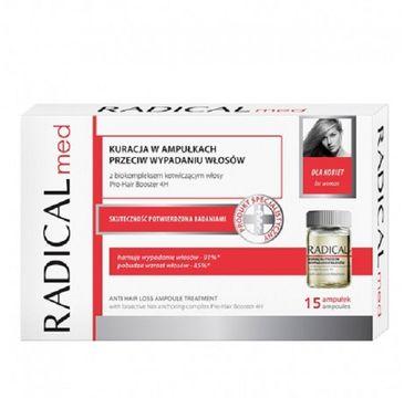 Radical Med Anti Hair Loss Ampoule Treatment kuracja w ampułkach przeciw wypadaniu włosów 15x5ml