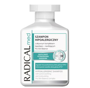 Radical Med Shampoo Hypoallergenic szampon hipoalergiczny łagodząco-nawilżający 300ml