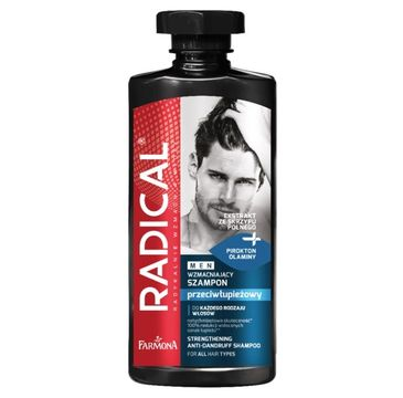 Radical Men Szampon wzmacniający przeciwłupieżowy dla mężczyzn  (400 ml)