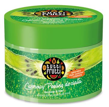 Tutti Frutti Cukrowy peeling do ciała Avocado& Kiwi (300 ml)