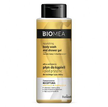 Biomea – Odżywczy płyn do kąpieli i pod prysznic (500 ml)