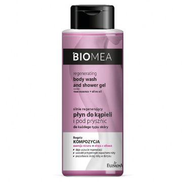 Biomea – Regenerujący płyn do kąpieli i pod prysznic (500 ml)