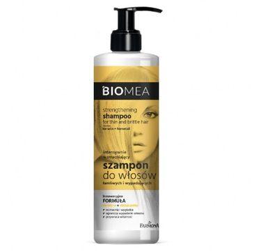 Biomea – Szampon wzmacniający do włosów łamliwych i wypadających (400 ml)