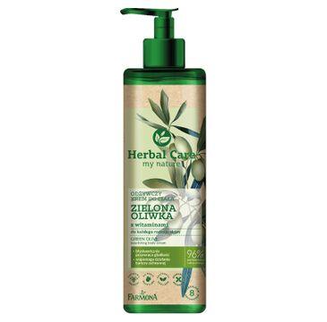 Herbal Care – odżywczy krem do ciała Zielona Oliwka (400 ml)