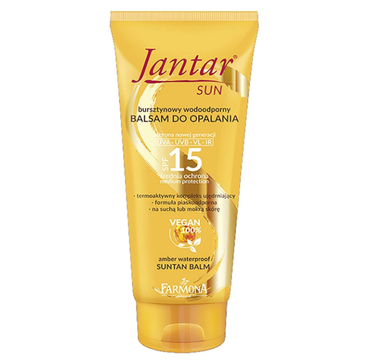 Jantar – Sun Bursztynowy wodoodporny balsam SPF 15 (200 ml)