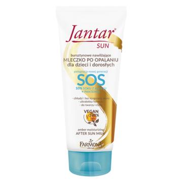 Jantar – Sun SOS mleczko nawilżające po opalaniu dla dzieci i dorosłych (200 ml)