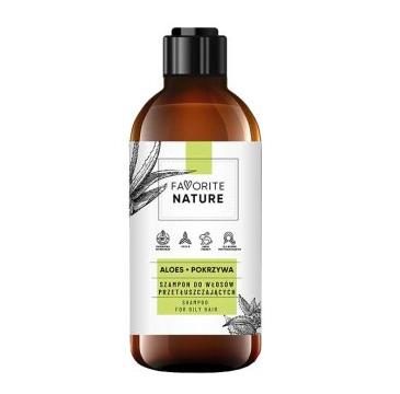 Favorite Nature – Szampon do włosów przetłuszczających się (400 ml)