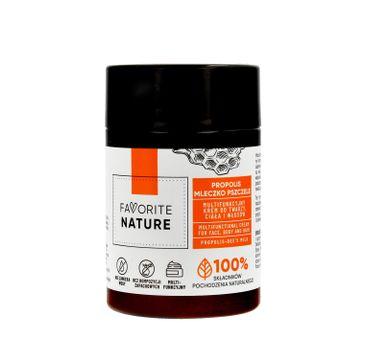 Favorite Nature Multifunkcyjny Krem do twarzy ,ciała i włosów z Propolisem i Mleczkiem Pszczelim (100 ml)