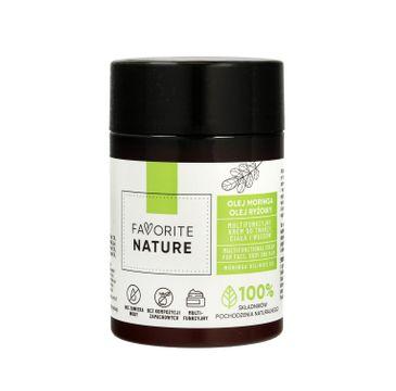 Favorite Nature Multifunkcyjny Krem do twarzy ,ciała i włosów z Olejem Moringa i Olejem Ryżowym (100 ml)
