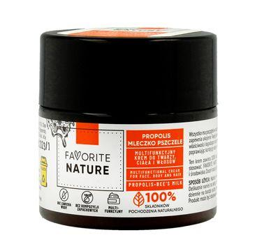Favorite Nature Multifunkcyjny Krem do twarzy ,ciała i włosów z Propolisem i Mleczkiem Pszczelim (50 ml)