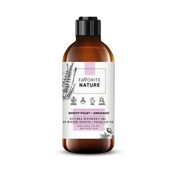 Favorite Nature – Odżywka regeneracyjna do włosów suchych i puszących się (250 ml)