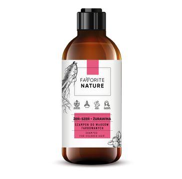 Favorite Nature – Szampon do włosów farbowanych (400 ml)