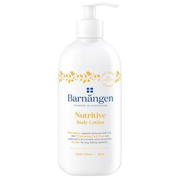Barnängen – Nutritive Body Lotion balsam do ciała do skóry suchej z ekstraktem z Maliny (400 ml)