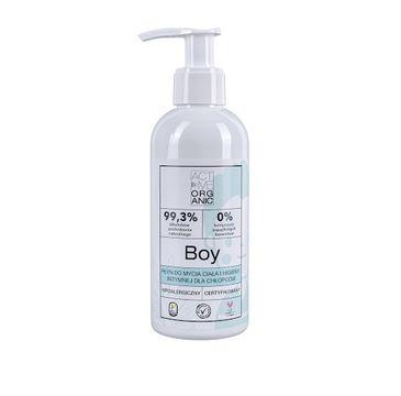 Active – Organic Boy płyn do mycia ciała i higieny intymnej dla chłopców (200 ml)