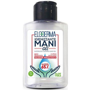 Eloderma – Waterless Cleaning Hand Gel antybakteryjny żel do rąk Aloe Vera (80 ml)
