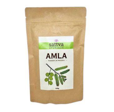 Sattva – Powder zioła w proszku do włosów Amla (100 g)