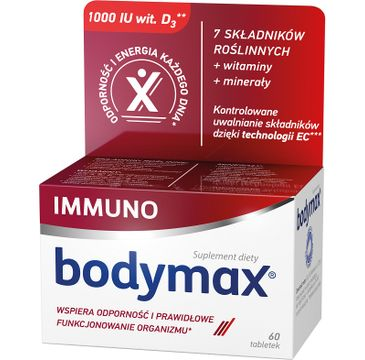 Bodymax – Immuno witaminy i minerały suplement diety (60 tabletek)
