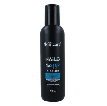 Silcare – Nailo 1st Step Nail Cleaner płyn do odtłuszczania płytki paznokcia (90 ml)