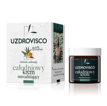 UZDROVISCO – Całodniowy krem do twarzy nawadniający Rokitnik i Mikroalgi (50 ml)
