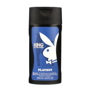Playboy King of the Game – żel pod prysznic 2w1 (250 ml)