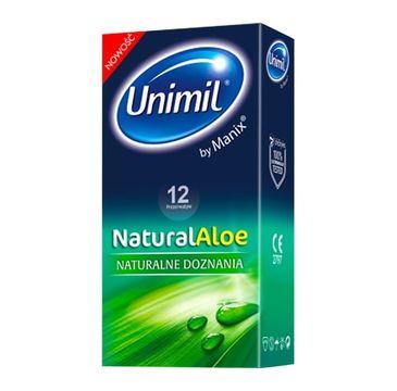 Unimil – Natural Aloe lateksowe prezerwatywy (12 szt.)