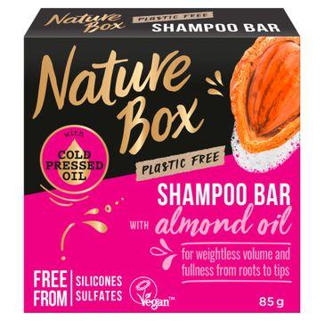 Nature Box Shampoo Bar – szampon do włosów w kostce Almond Oil (85 g)