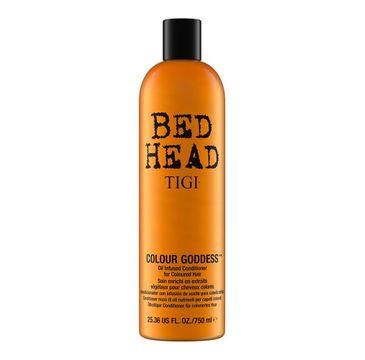 Tigi Bed Head Colour Goddess Conditioner – odżywka do włosów farbowanych dla brunetek (750 ml)