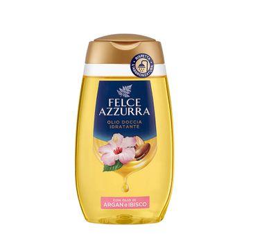 Felce Azzurra Moisturizing Shower Oil olejek pod prysznic Argan & Hibiscus (250 ml)