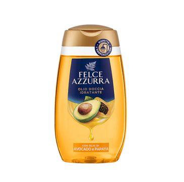 Felce Azzurra Moisturizing Shower Oil olejek pod prysznic Avocado & Papaia (250 ml)
