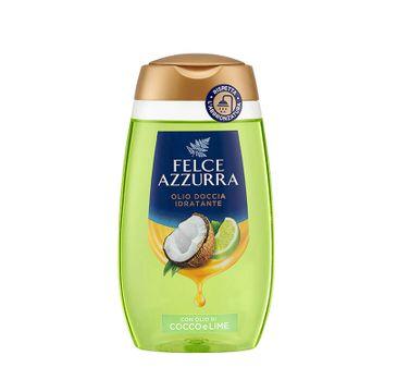 Felce Azzurra Moisturizing Shower Oil olejek pod prysznic Coconut & Lime (250 ml)