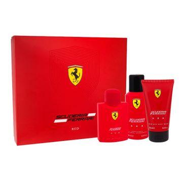 Ferrari Scuderia Red woda toaletowa spray 125ml + żel pod prysznic 150ml + dezodorant spray 150ml