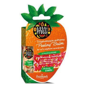 Tutti Frutti – Balsam peelingujący do ust Pomarańcza & Truskawka (10 g)